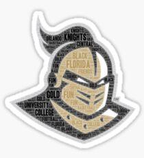 UCF Logo 1 Sticker