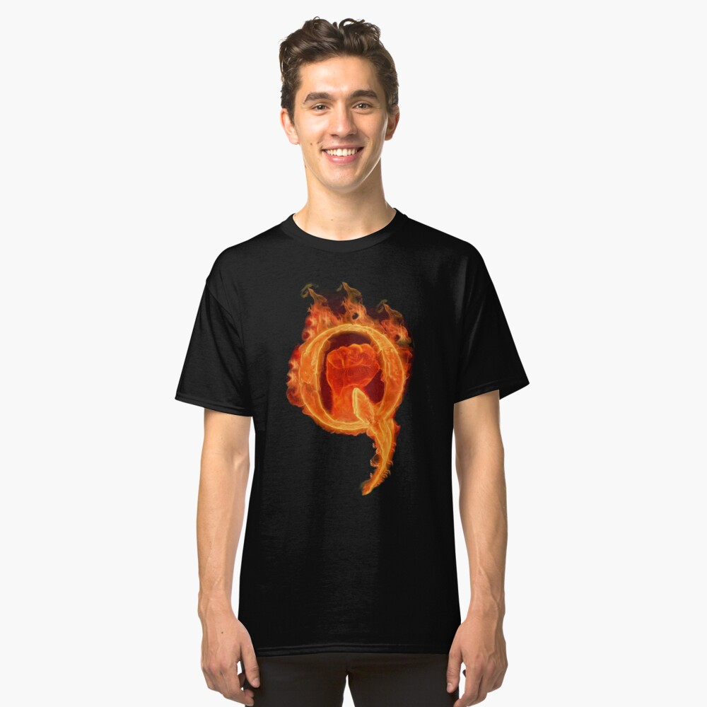 Solidarity Combustion Q  Classic T-Shirt Front