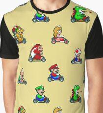 Camiseta gráfica Super Mario Kart / Personajes 02
