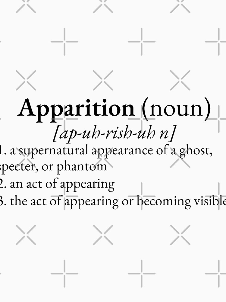 Paranormal Definitions: Apparition by GhostlyWorld