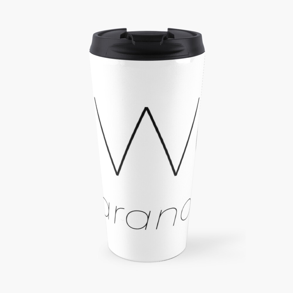 GhostlyWorld.org Logo (Text Only) Travel Mug