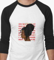 Puella Deus Men's Baseball ¾ T-Shirt