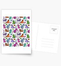 kittycat jumble .... Postcards