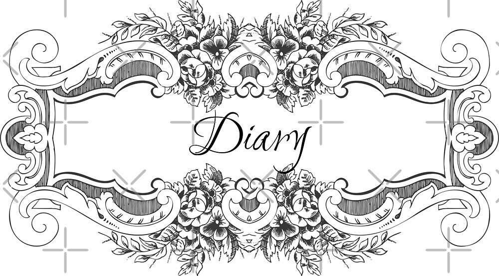 Gothic/Victorian Style Diary by GhostlyWorld