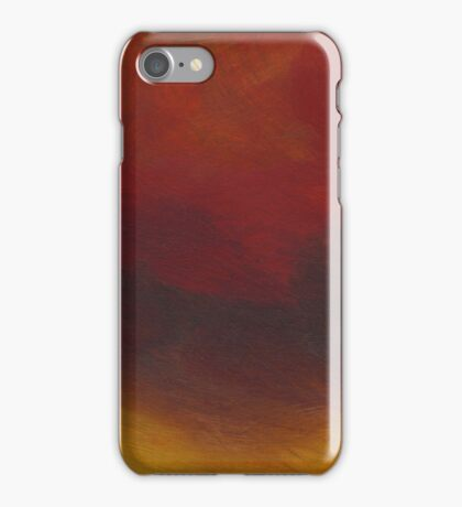Minimal Red study iPhone Case/Skin