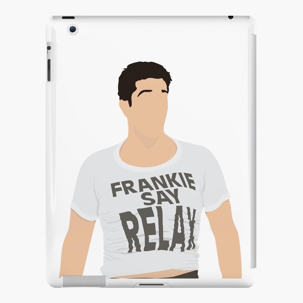Frankie Say Relax Funda y vinilo para iPad