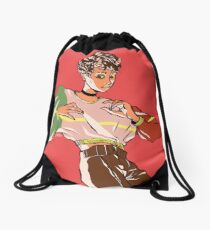 TERRIFY Drawstring Bag
