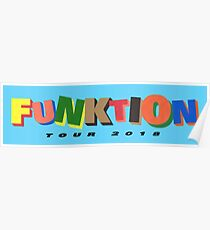 Funktion Tour Banner / Poster !! Poster