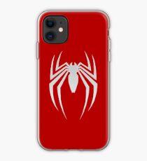 White Spider iPhone Case