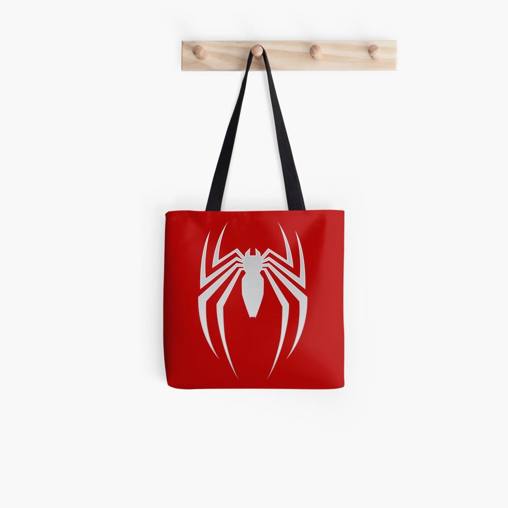 White Spider Tote Bag