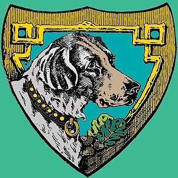 Ediemagic Vintage Dog Colorized by Ediemagic