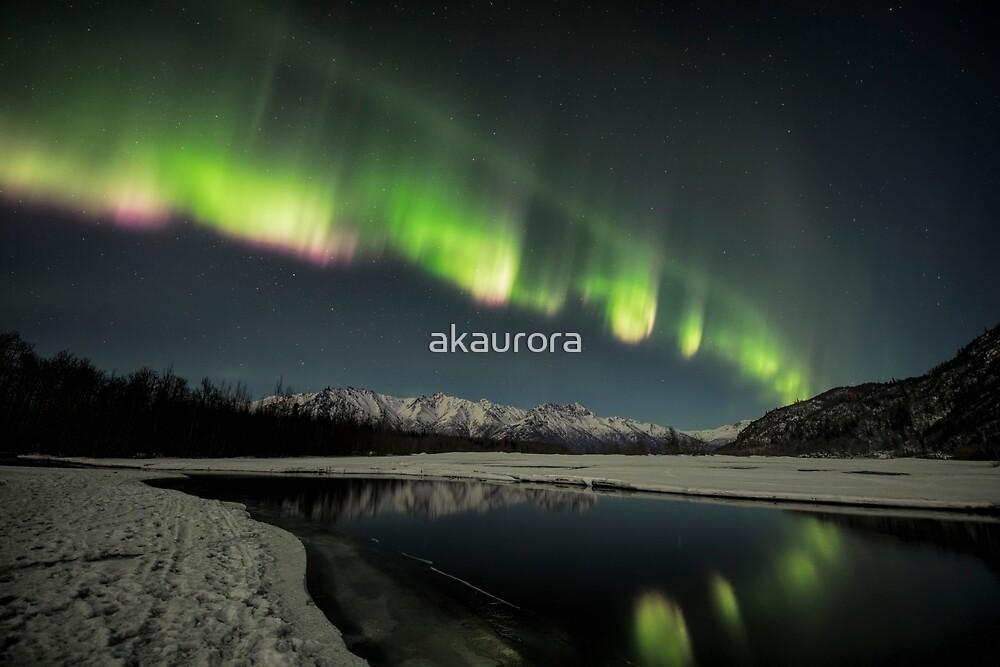 Aurora Borealis ~ Colorful Waves I by akaurora