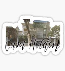 Pegatina Casa Holden