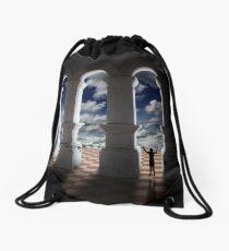 Triumphant in Dreamland. Drawstring Bag