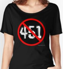 NO 451! Women's Relaxed Fit T-Shirt