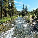 Truckee River in Tahoe City by Joe Lach