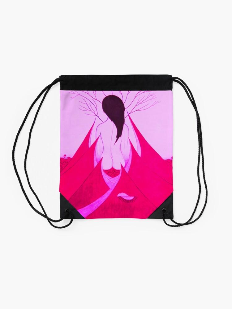 Vista alternativa de Mochila saco Enchantress Pink