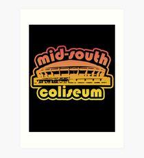 Mid-South Coliseum Sunset Art Print