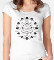 Moogle Mandala - Final Fantasy 7 Women's Fitted Scoop T-Shirt