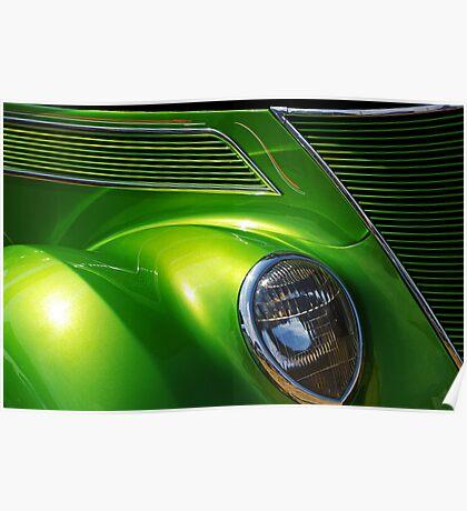 Green Machine. Poster