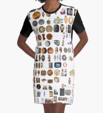 Ancient Venus, #Ancient, #Venus, #AncientVenus,  #древний, #pristine, #antique, #early, #venerable, #crusted, #старинный, #old, #oldest, #older, #elder Graphic T-Shirt Dress
