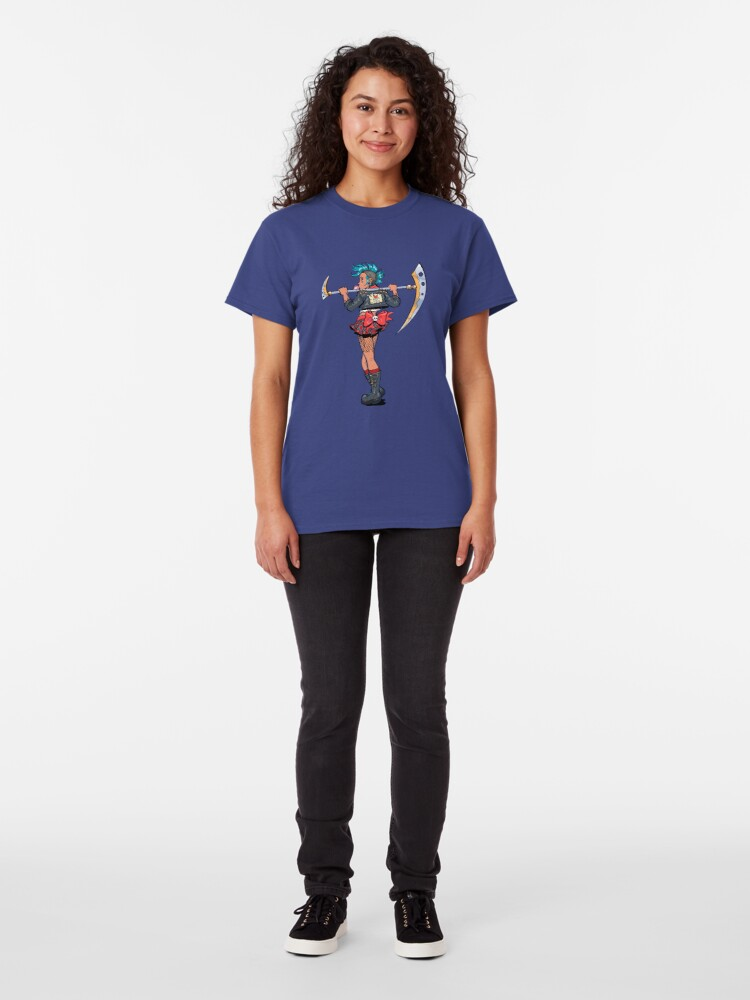 Alternate view of Sparkle Punk Magical Girl Classic T-Shirt
