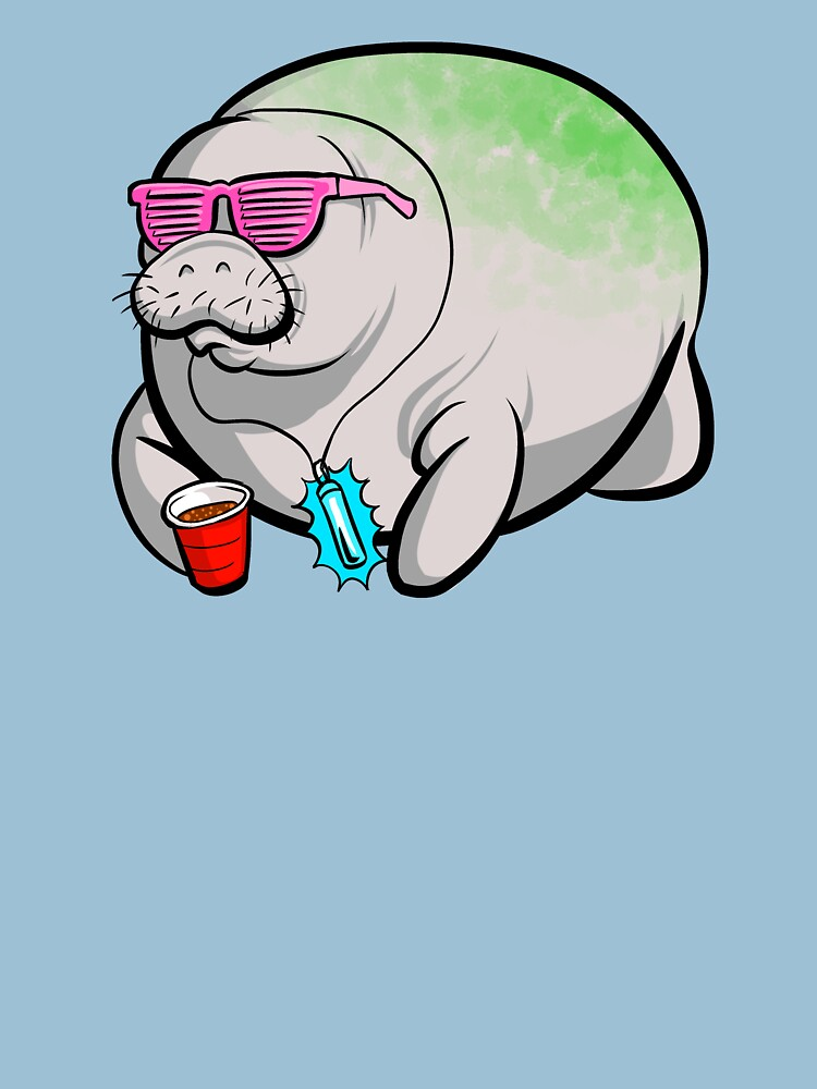 Party Manatee by theonicole