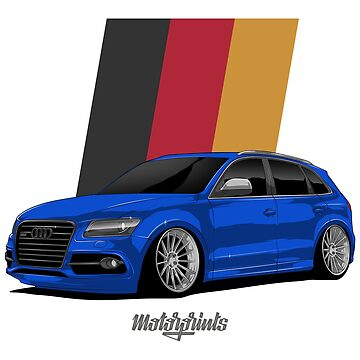 Sport Q5 (blue) by MotorPrints