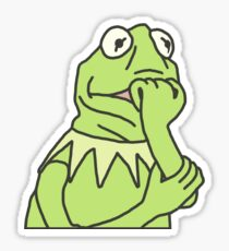 Kermit The Frog Drawing Stickers Redbubble
