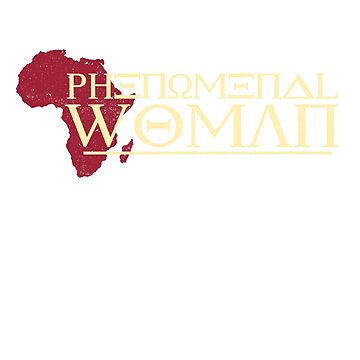 'African Phenomenal Woman' Cool Phenomenal Woman Gift by leyogi