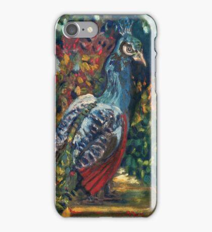 The Peacock Garden iPhone Case/Skin