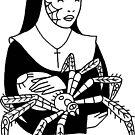 Spider Nun by tomgardenart
