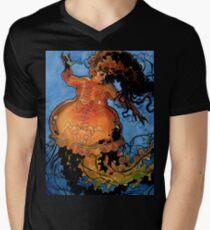 Jellyfish Mermaid V-Neck T-Shirt