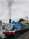 Thomas in Steam by Colin  Williams Photography