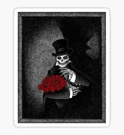 The Mourner Sticker