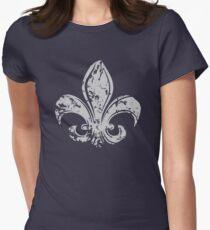 Grunge Fleur De Lis T-Shirt