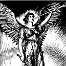 Angel and Slain Skeleton by GhostlyWorld