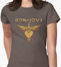 Bon Jovi - Because We Can  Women's Fitted T-Shirt
