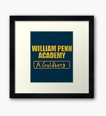 William Penn Academy Gym (Variant) - The Goldbergs Framed Print