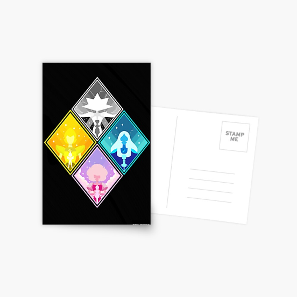 The Great Diamond Authority  Postcard