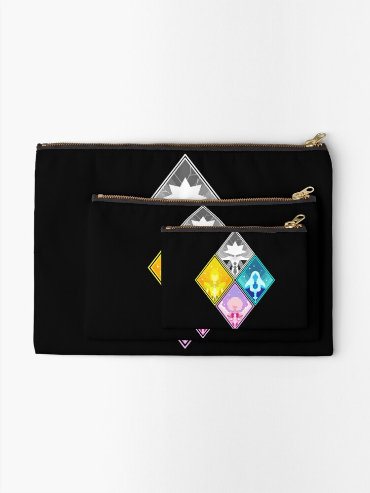 Alternate view of The Great Diamond Authority  Zipper Pouch