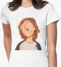 Lost and melancholic Women's Fitted T-Shirt