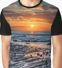 Sunrise over the ocean Graphic T-Shirt