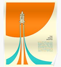 DER SPACESHUTTLE Poster