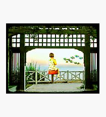 Summer At The Seashore Photographic Print