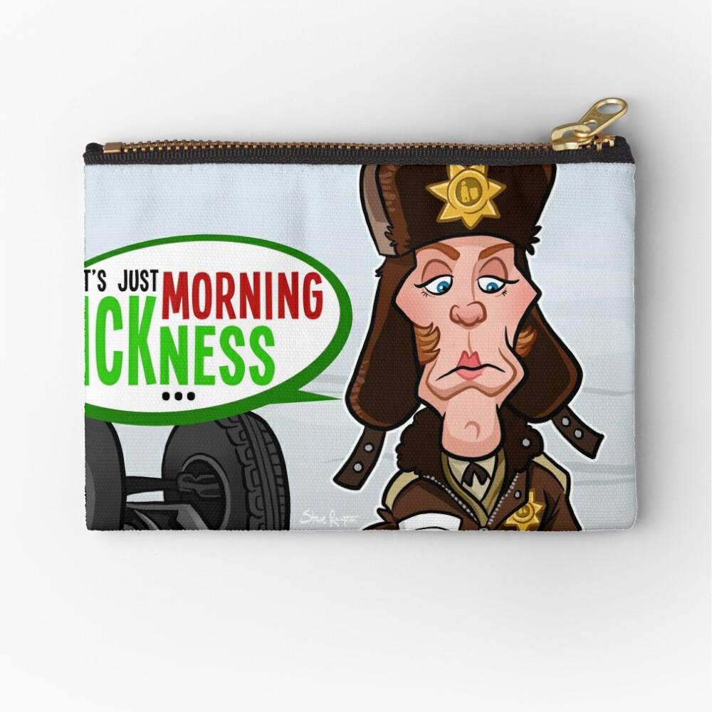 Morning Sickness Zipper Pouch