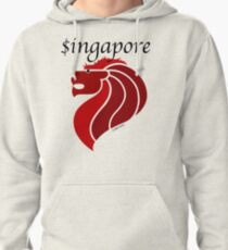 Singapore (light shirt) Pullover Hoodie