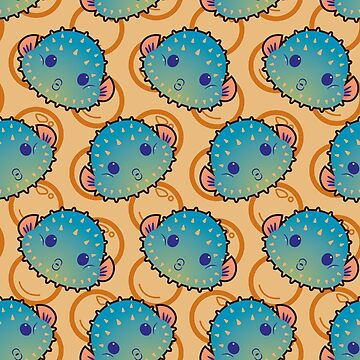Pufferfish by ZaryaKiqo