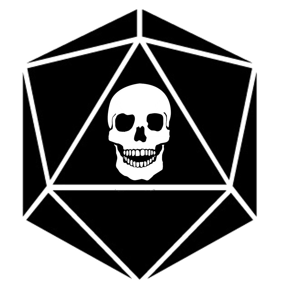 Skull dice by Gowombat