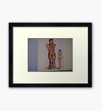 NUDES Framed Print